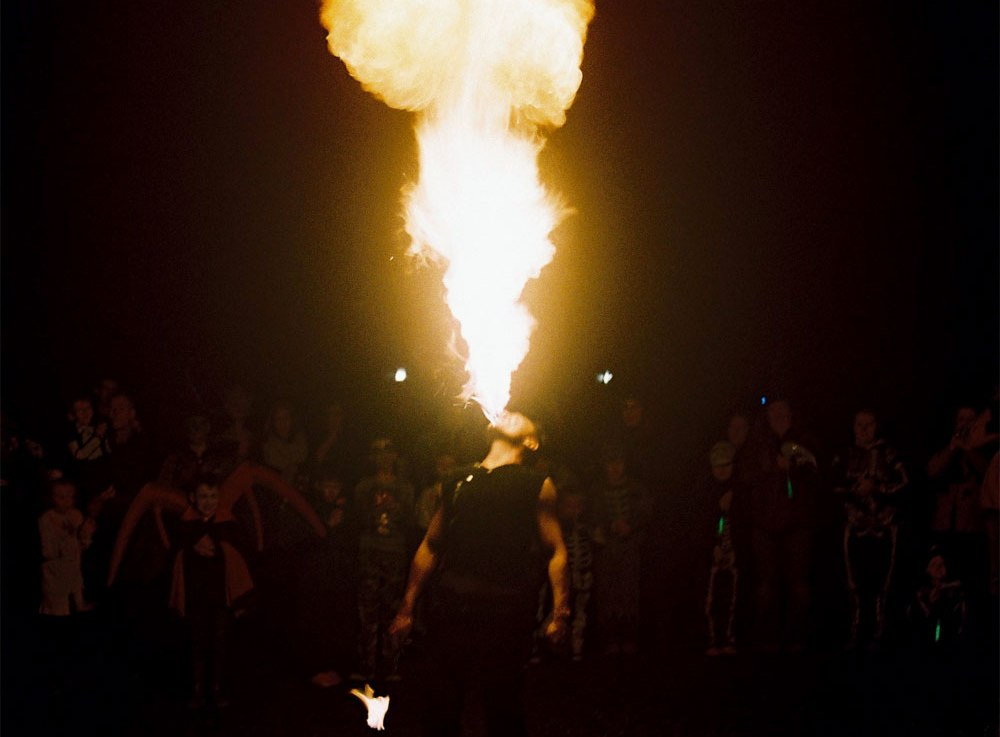 Some Bad Pictures of a FireEater