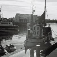 A Boat at the Marina